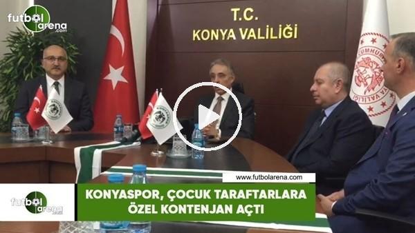 'Konyaspor, çocuk taraftarlara özel kontenjan açtı
