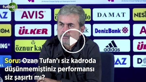 """Aykut Kocaman'dan Ozan Tufan sorusuna: """"Cevep vermeyeceğm gerek yok"""""""