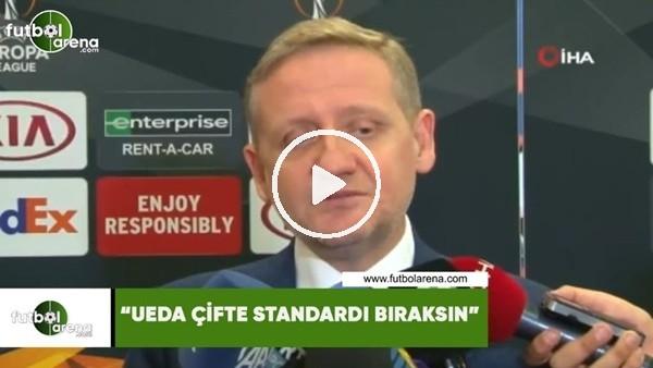 """Göksel Gümüşdağ: """"UEFA çifte standardı bıraksın"""""""