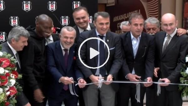'Beşiktaş Kulübü Fulya Alışveriş Merkezi Açılış Töreni