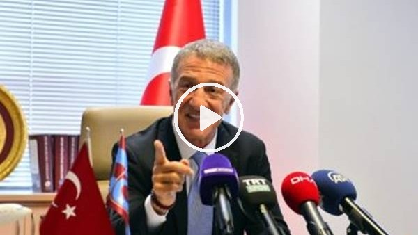 'Sosa, Trabzonspor'da kalacak mı? Ahmet Ağaoğlu açıkladı