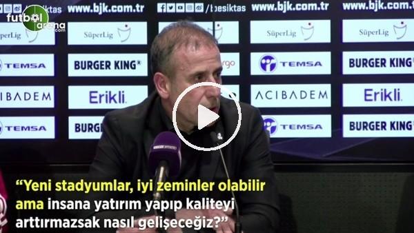 """'Abdullah Avcı: """"Yeni stadyumlar, iyi zeminler olabilir ama insana yatırım yapıp kaliteyi arttırmazsak nasıl geleceğiz?"""""""