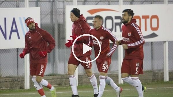 'Lider Sivasspor, Kasımpaşa maçının hazırlıkları başladı
