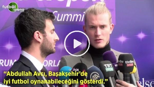 """'Loris Karius: """"Abdullah Avcı, Başakşehir'de iyi futbol oynanabileceğini gösterdi"""""""