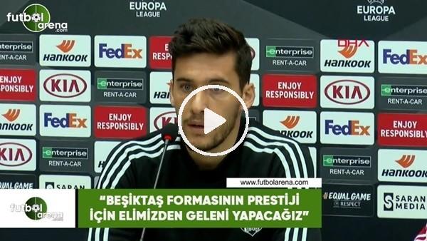 """Umut Nayir: """"Beşiktaş formasının prestiji için elimizden geleni yapacağız"""""""