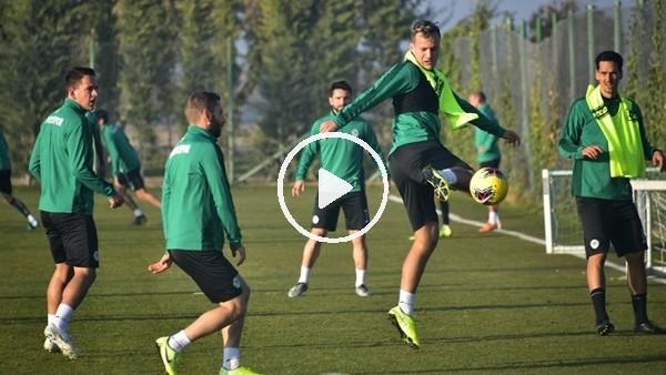 'Konyaspor'da Beşiktaş maçı hazırlıkları