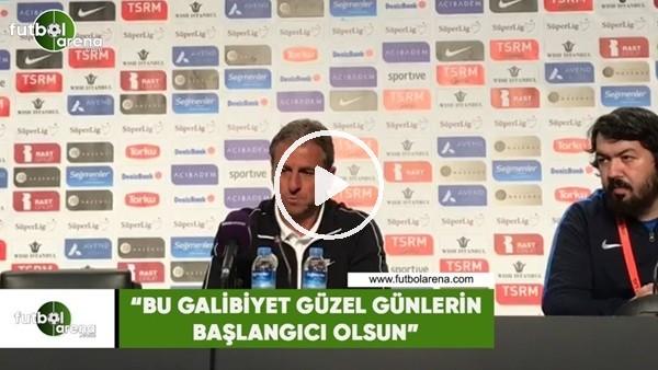 """'Hamza Hamzaoğlu: """"Bu galibiyet güzel günlerin başlangıcı olsun"""""""