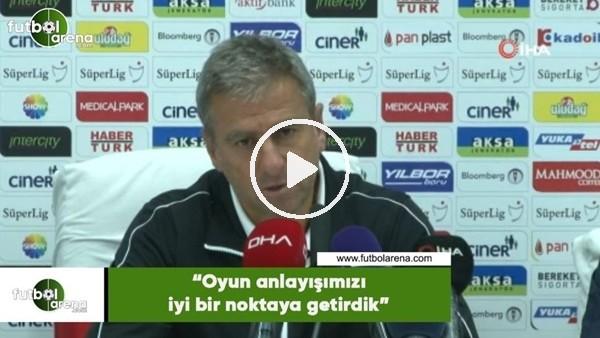 """'Hamza Hamzaoğlu: """"Oyun anlayışımızı iyi bir noktaya getirdik"""""""