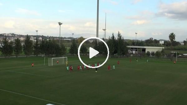 Ahmet Karademir'in milli takıma galibiyeti getiren golü