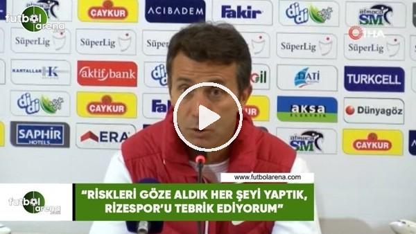 """'Aykut Kocaman: """"Sivasspor net bir şekilde galibiyeti hak etti"""""""