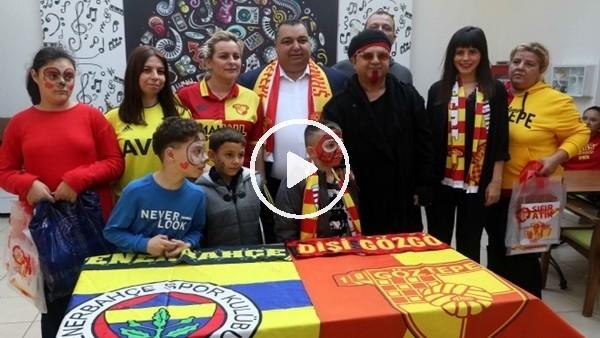 'Göztepe ve Fenerbahçeli kadınlar 'sevgi' için el ele verdi