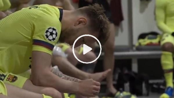 'Barcelona, Liverpool maçının soyunma odası görüntülerini yayınladı