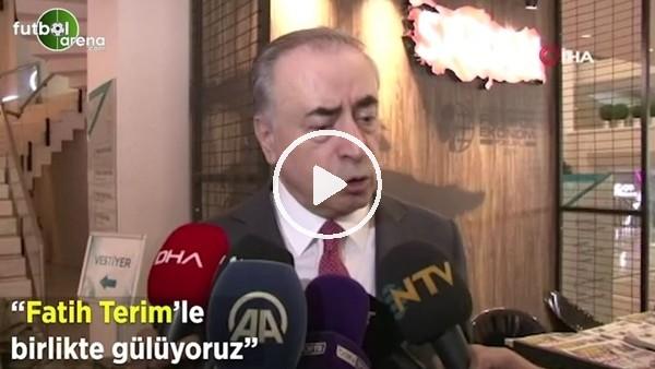 """'Mustafa Cengiz: """"Fatih Terim ile birlikte gülüyoruz"""""""