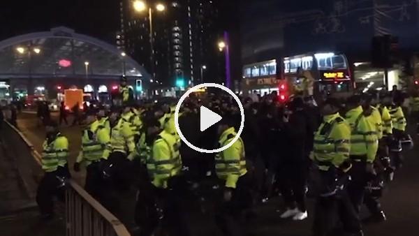 'İngiliz polisi, Liverpool - Napoli maçı öncesinde yoğun güvenlik önlemleri aldı