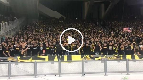'Endonezya maçında Malezya tribünleri