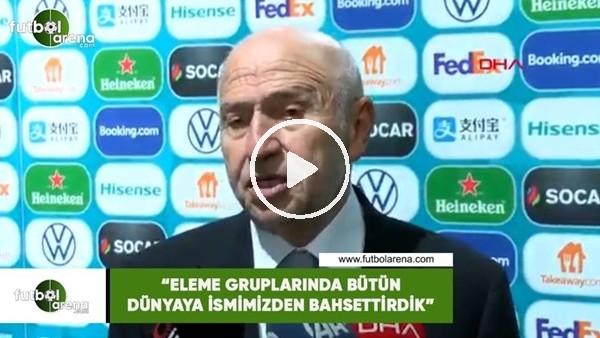 """Nihat Özdemir: """"Eleme gruplarında bütün dünyay ismimizden bahsettirdik"""""""