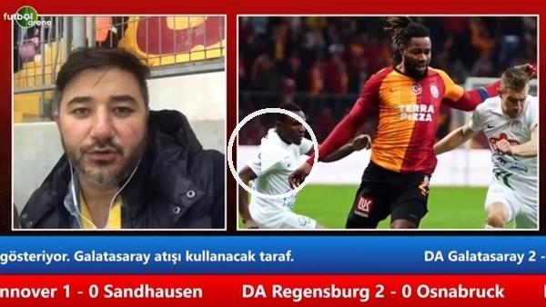 'Galatasaray - Çaykur Rizespor maçının ilk yarısından notlar