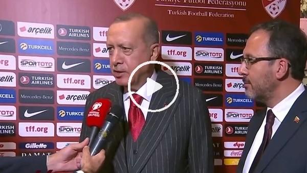 """Cumhurbaşkanı Erdoğan:  """"Milletimiz için hayırlı olsun temennisinde bulunuyorum"""""""