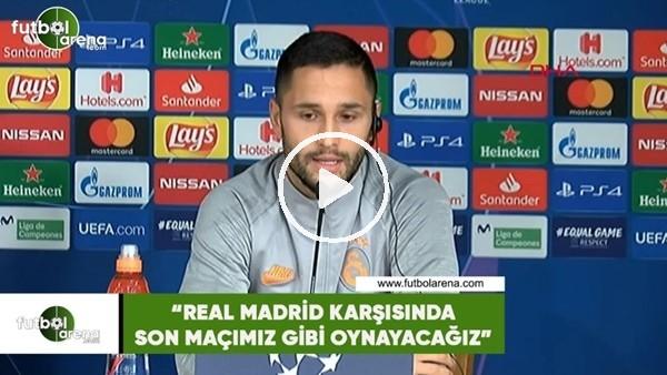 """Andone: """"Real Madrid'e karşı son maçımız gibi oynayacağız"""""""