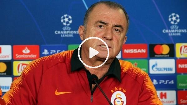 Fatih Terim, Real Madrid maçı öncesi basın toplantısı düzenledi