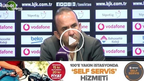 """'Mehmet Özdilek: """"Diaby'nin pozisyonuna hakem kırmızı kart verse itiraz etme şansımız yok"""""""