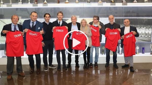 İtalyan gazeteciler, milli takım tesislerine hayran kaldı