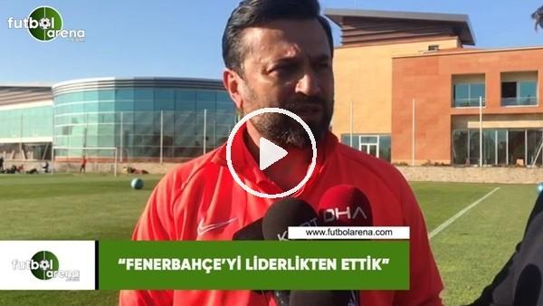 """'Bülent Uygun: """"Fenerbahçe'yi liderlikten ettik"""""""