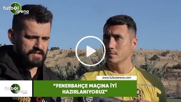 """'Adis Jahovic: """"Fenerbahçe maçına iyi hazırlanıyoruz"""""""