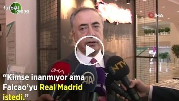 "'Mustafa Cengiz: ""Kimse inanmıyor ama Falcao'yu Real Madrid istedi"""