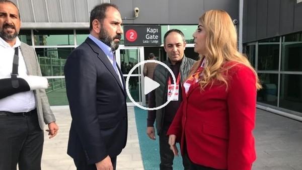 Kayserispor Başkanı Berna Gözbaşı tebrikleri kabul etti