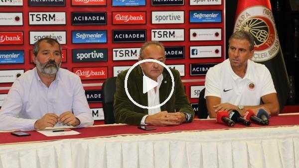 'Gençlerbirliği, Hamza Hamzaoğlu ile sözleşme imzaladı
