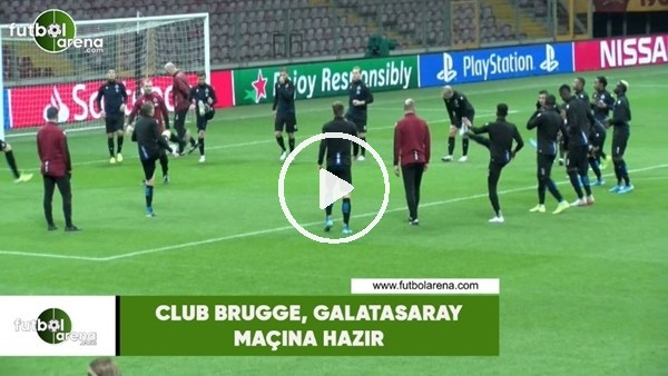 Club Brugge, Galatasaray maçına hazır