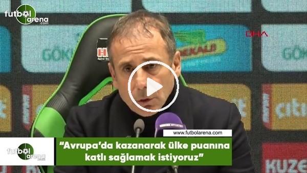 """Abdullah Avcı: """"Avrupa'da kazanarak ülke puanına katkı sağlamak istiyoruz"""""""