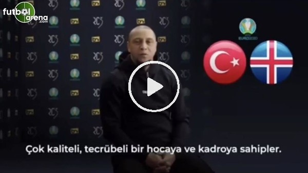 """'Roberto Carlos: """"Türkiye, İzlanda'yı yener"""""""