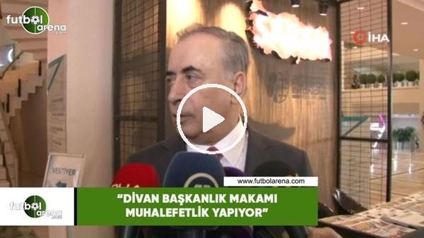 """'Mustafa Cengiz: """"Divan başkanlık makamı muhalefetlik yapıyor"""""""