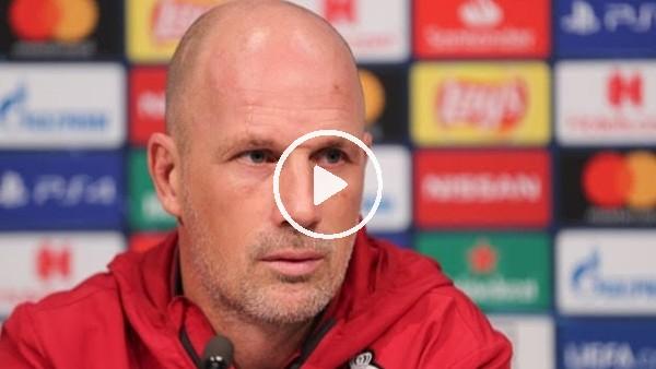 Philippe Clement, Galatasaray Maçı Öncesi Basın Toplantısı Düzenledi | Club Brugge Antrenmanı