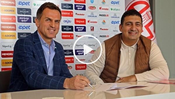 'Antalyaspor'da Stjepan Tomas imzayı attı