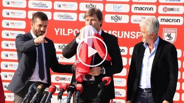 'Ertuğrul Sağlam, Samsunspor ile 5 yıllık sözleşme imzaladı