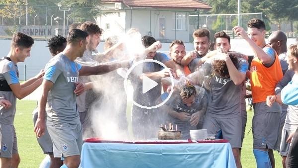 'Trabzonspor'da neşeli antrenman