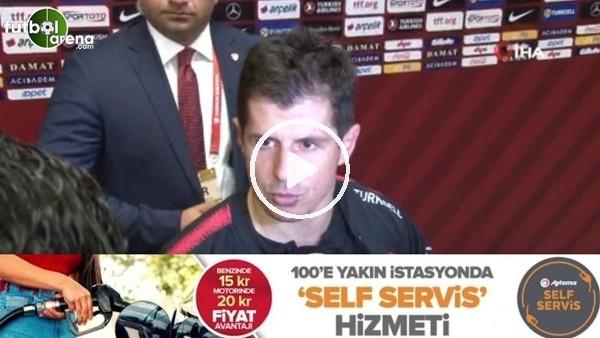 """'Emre Belözoğlu: """"Bu takımın bir parçası olmak benim için büyük şeref"""""""