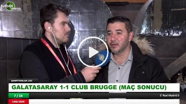 """'Ali Naci Küçük: """"Club Brugge fizik olarak Galatasaray'dan daha iyiydi"""""""