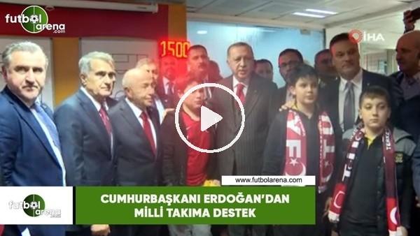 'Cumhurbaşkanı Erdoğan'dan Milli Takıma tebrik