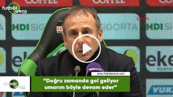 """Abdullah Avcı: """"Doğru zamanda gol geliyor umarım böyle devam eder"""""""