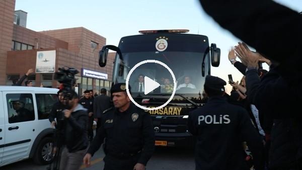 'Galatasaray kafilesi Gaziantep'te