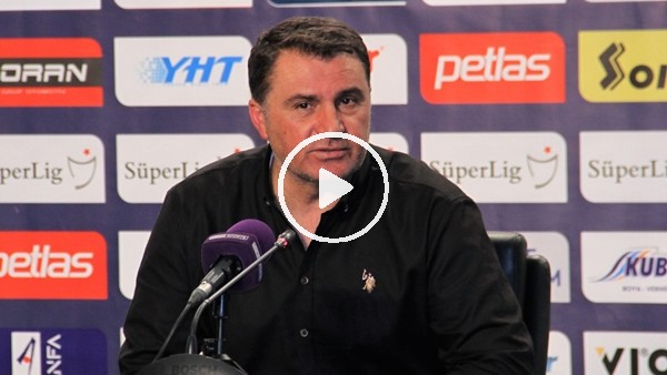 """'Mustafa Kaplan: """"Vasat oynayan futbolcular vardı, yediğimiz goller bize yakışmıyor"""""""