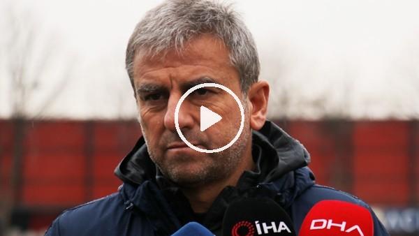 """Hamza Hamzaoğlu: """"Beşiktaş maçından iyi bir sonuçla ayrılmak istiyoruz"""""""