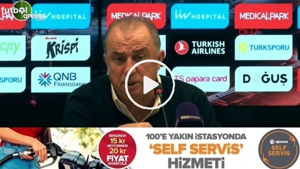 """'Fatih Terim: """"Koca bir Galatasaray'dan bahsediyoruz ama yediğimiz goller hep basit"""""""