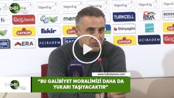 """'Tayfur Havutçu: """"Bu galibiyet moralimizi daha da yukarı taşıyacaktır"""""""