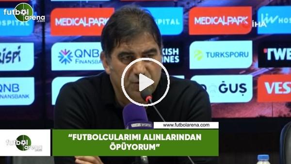 """Ünal Karaman: """"Futbolcularımı alınlarından öpüyorum"""""""