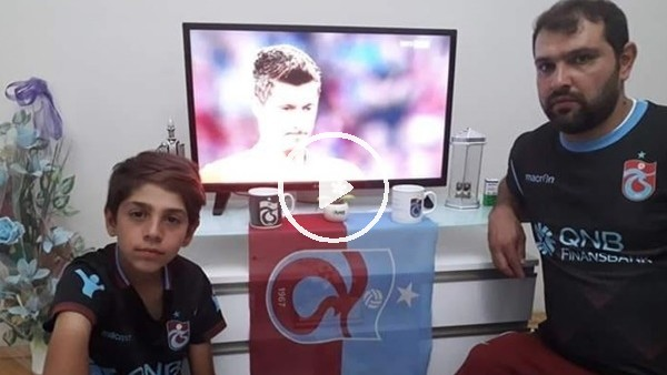 'Baba-oğlun Trabzonspor sevdası